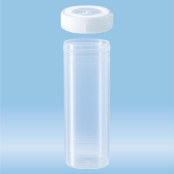 Screw cap tube, 120 ml, (LxØ): 114 x 44 mm, PP