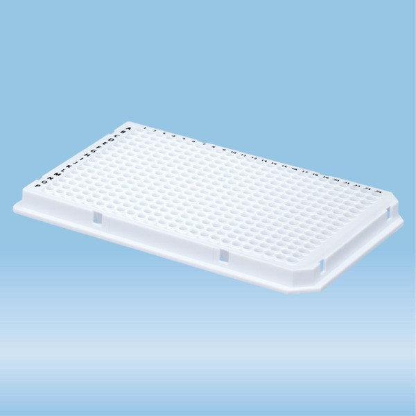 PCRplate full skirt, 384 well, white, Low Profile, 40 µl, PCR Performance Tested, PP