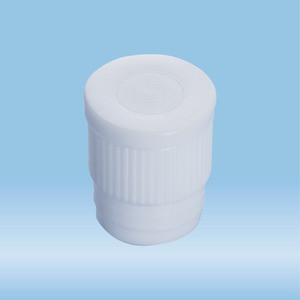 Push cap, white, suitable for tubes Ø 16-17 mm