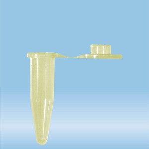 Micro tube 0.5ml, yellow