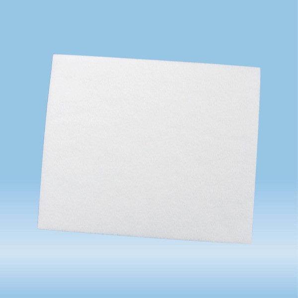 Absorbent liner, suitable for protective container 126 x 30 mm, (LxW): 75 x 90 mm