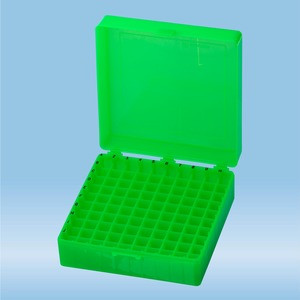 Storage Box 10x10, green (PP)