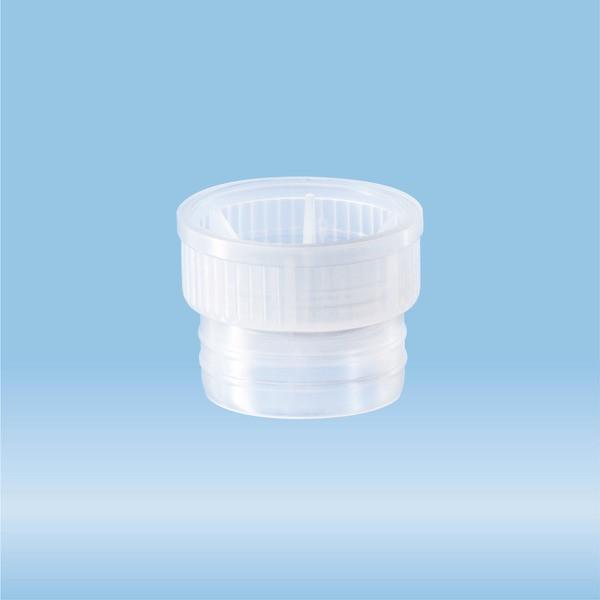 Push cap, natural, suitable for tubes Ø 21.5 mm