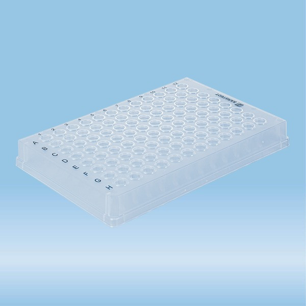 PCRplate full skirt, 96 well, transparent, Low-Profile, 100 µl, Low DNA-binding, PCR Performance Te