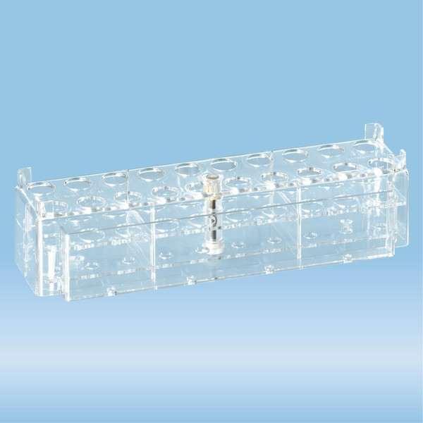 Rack, PC, suitable for tubes, all S-Monovette diameters