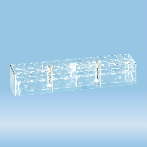 Rack, PC, suitable for tubes up to 26 mm Ø