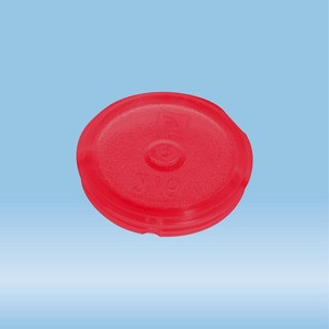 Colour-coded inserts, red, suitable for screw caps 65.716.xxx