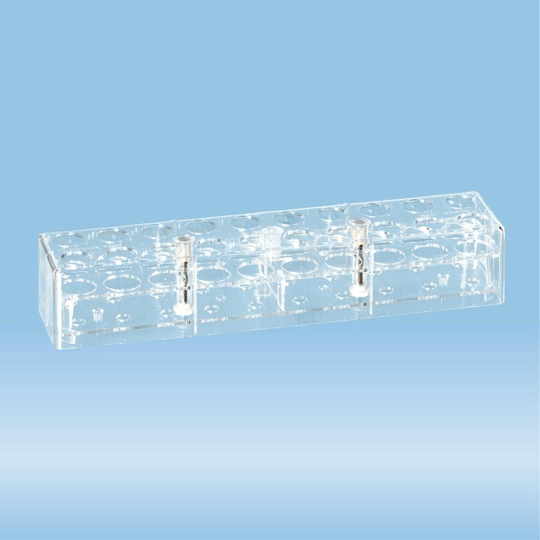 Rack, PC, suitable for tubes 100 x 21.5 mm