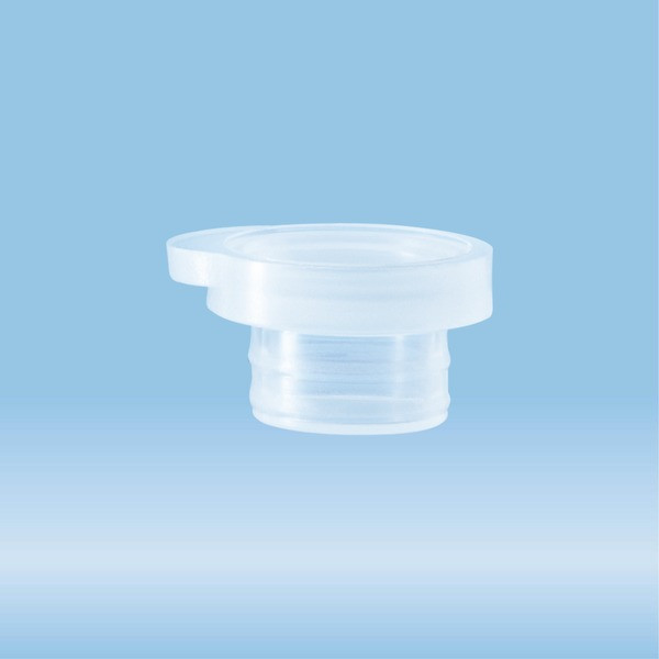 Push cap, natural, suitable for micro tube Ø 10.8 mm