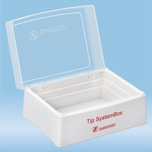 Tip SystemBox with snap-on lid