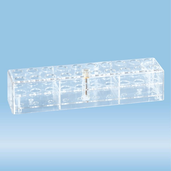 Rack, PC, suitable for tubes, all S-Monovette diameters