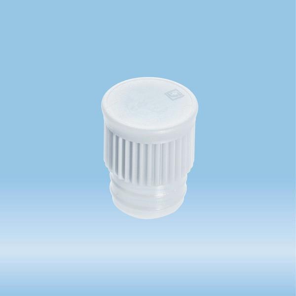 Push cap, transparent, suitable for tubes Ø 15.7 mm