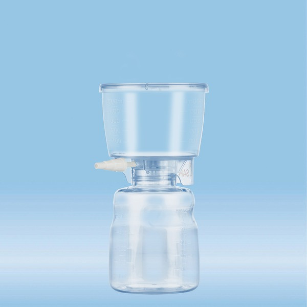 Filtropur V50, Vacuum filtration unit, 500 ml, PES, 0.45 µm