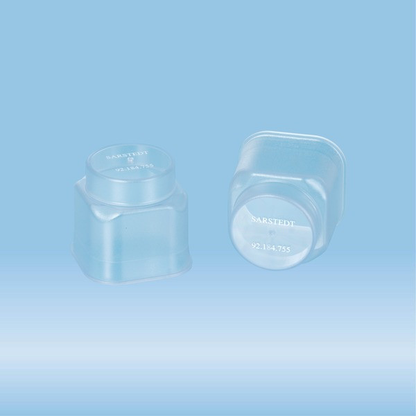 Cap, LC 24, natural, for Tube holder