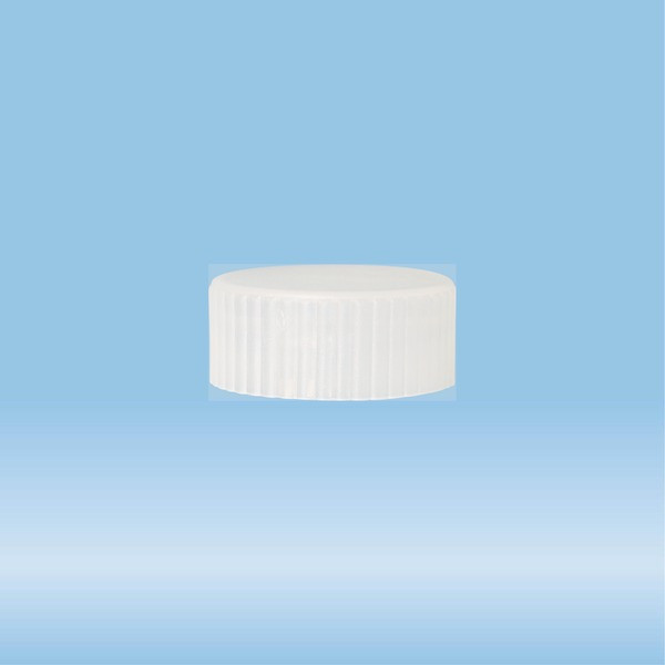 Lid for sample tube 73.641, length: 8 mm, LD-PE