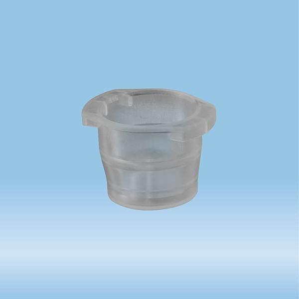 Cap, grey, suitable for tubes Ø 10-17 mm