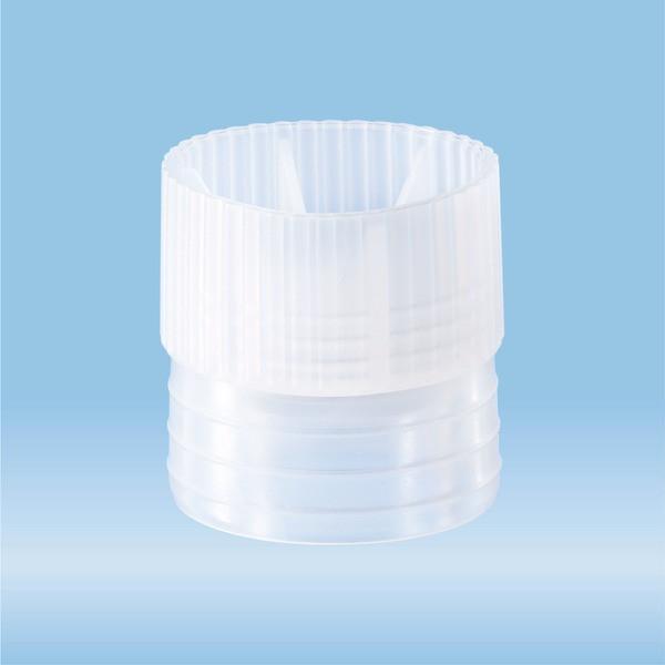 Push cap, natural, suitable for tubes Ø 23.5 mm