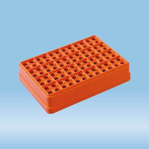 Individual tray, orange