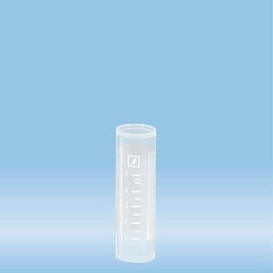 Tube, 7 ml, (LxØ): 50 x 16 mm, PP, with print