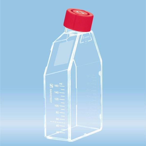 Cell culture flask, T-75, surface: Standard, Filter cap