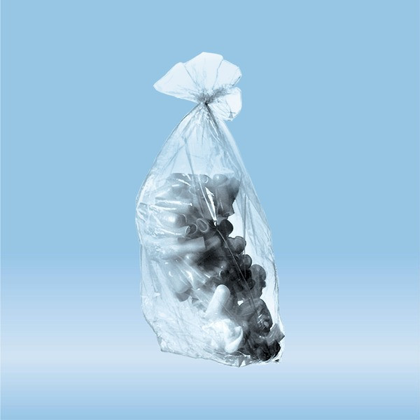 Disposal bags, 7 l, (LxW): 500 x 300 mm, PP, transparent, without print