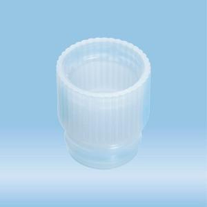 Push cap, transparent, suitable for tubes Ø 13 mm