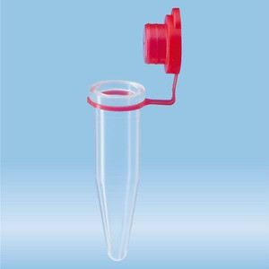 Micro tube 1.5ml, red