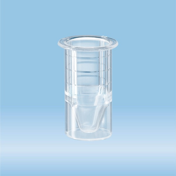 Insert, suitable for tubes and S-Monovettes Ø 15 mm, transparent