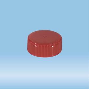 S-CAP,F/50ML SC TUBE,RED
