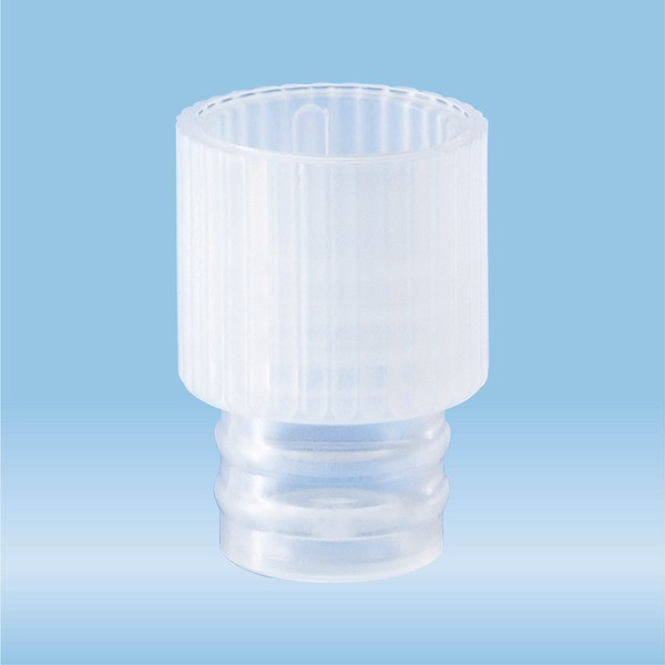 Push cap, natural, suitable for tubes Ø 10 and 11 mm