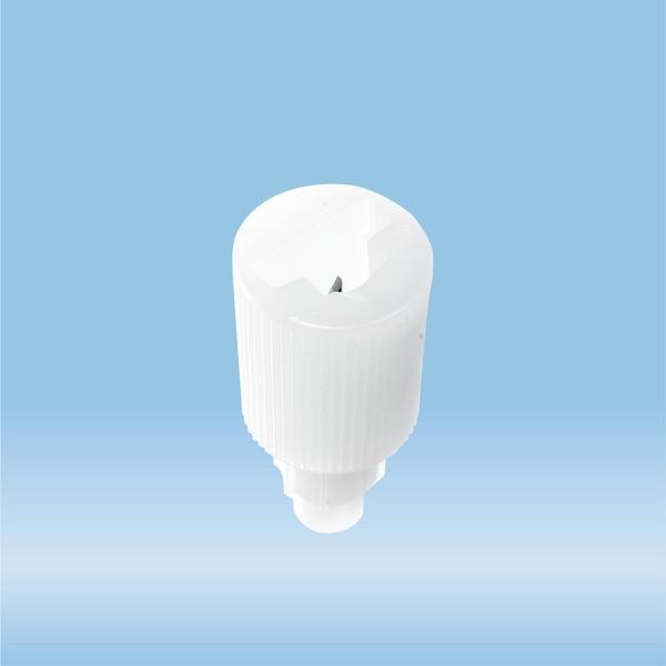 Tube segment opener, for glass tubes Ø 8,2 mm, HD-PE, white