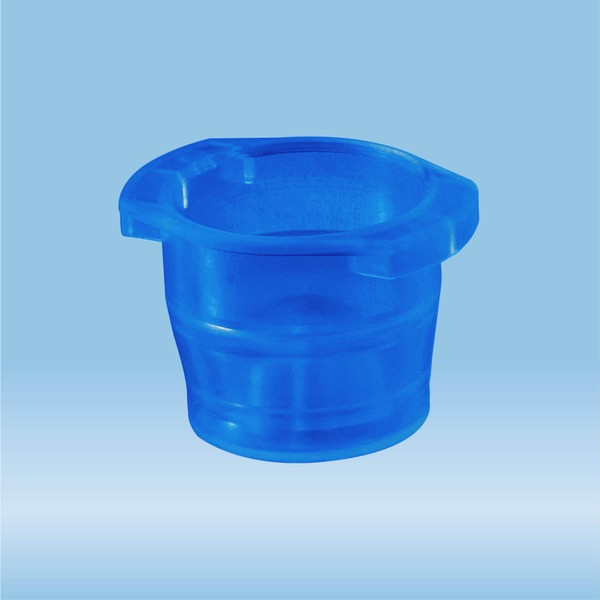 Cap, blue, suitable for tubes Ø 10-16 mm