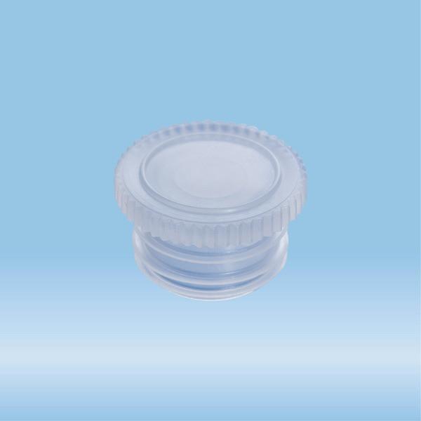 Push cap, natural, suitable for tubes Ø 14.5 mm