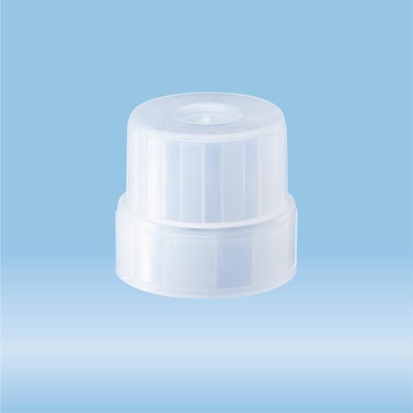 Anti-evaporation cap, transparent, suitable for S-Monovettes Ø 15 mm