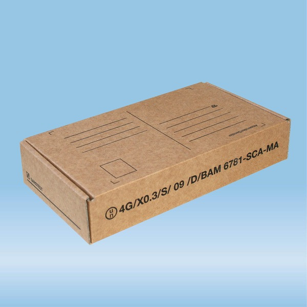 Post transport packaging, 198 x 107 x 38 mm