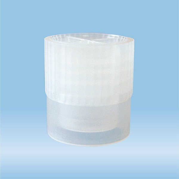 Cap, natural, suitable for tubes Ø 11.5 and 12 mm