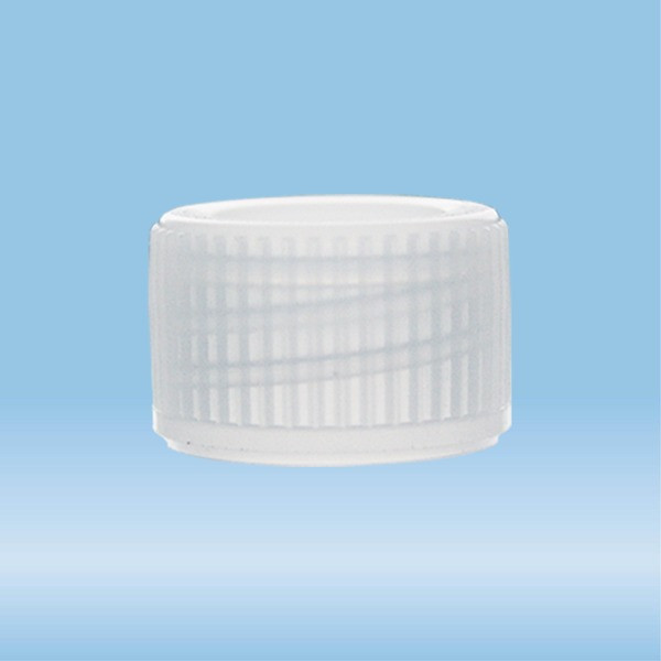 Screw cap, natural, suitable for tubes Ø 11.5 mm