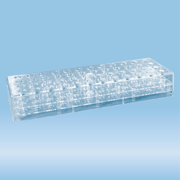 Rack, PC, format: 12 x 4, suitable for micro tubes 1.5ml