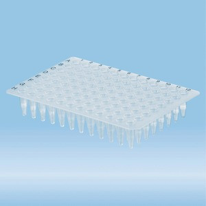 PCRplate without deck, 96 well, transparent, High-Profile, 200 µl, PCR Performance Tested, PP