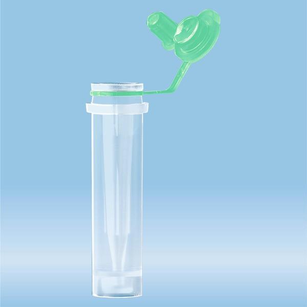 Microvette® CB 300 Lithium heparin, 300 µl, cap green, push cap, flat base