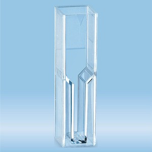 Semi-micro cuvette, 2.5 ml, (HxW): 45 x 12 mm, methyl methacrylate) (PMMA, transparent, optical side
