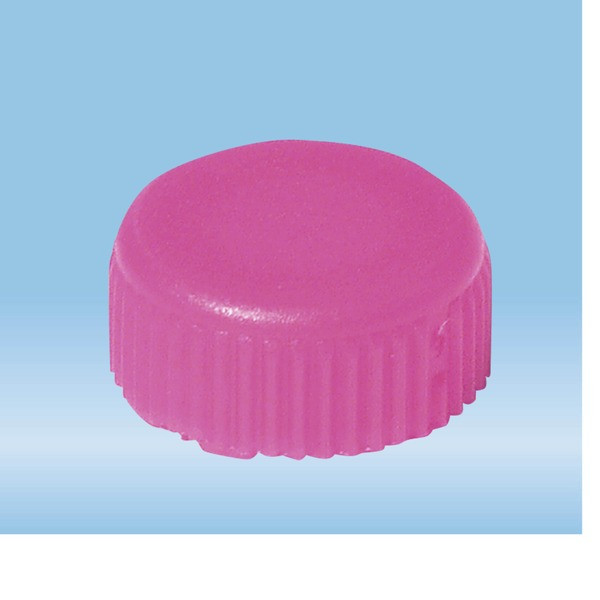 Screw cap, pink, suitable for screw cap micro tubes