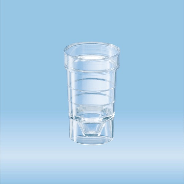 Sample tube, suitable for auto-analyzer, transparent