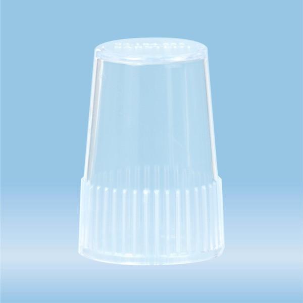 Cap, LC 6, natural, for Tube holder