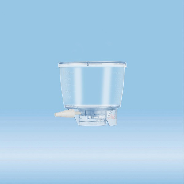 Filtropur BT 50, Bottle top filter, 500 ml, PES, 0.1 µm
