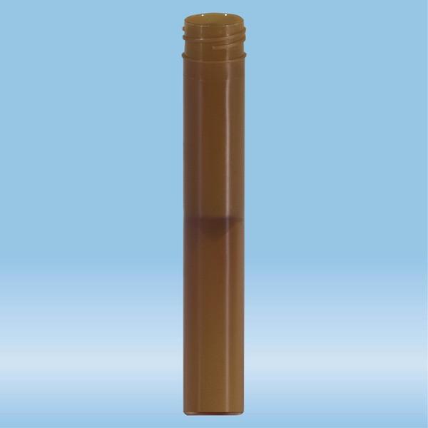 Screw cap tube, 5 ml, (LxØ): 92 x 15.3 mm, flat false bottom, PP, 100 piece(s)/bag