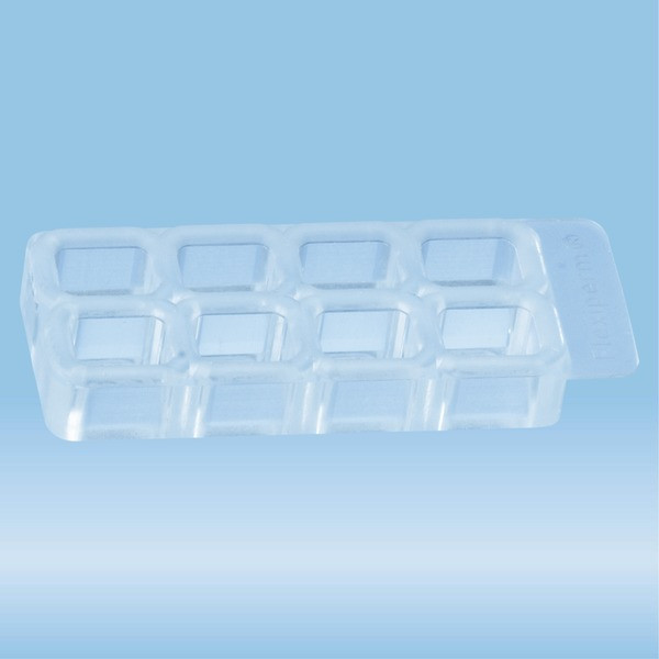 flexiPERM®, slide, re-usable silicon insert, 8 well, 5 piece(s)/bag