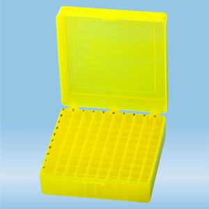 Storage Box 10x10, yellow (PP)