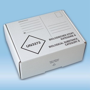 Post transport packaging, (LxWxH): 192 x 146 x 75 mm, for Cold transport container