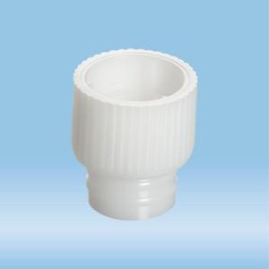 Push cap, white, suitable for tubes Ø 12 mm